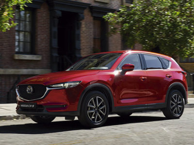 Máximo reconocimiento en seguridad de IIHS por segundo año consecutivo para Mazda CX-5